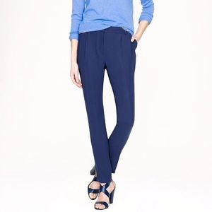J. Crew Collection Pants in Heavy Matte Crepe 00